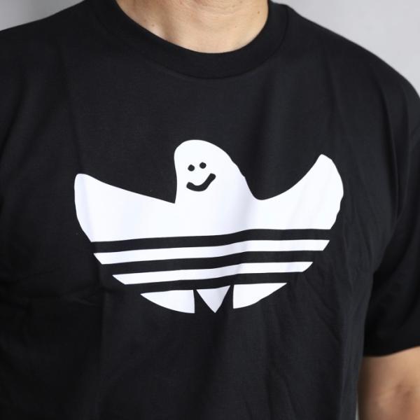 アディダスオリジナルス マークゴンザレス コラボ Tシャツ adidas originals  SHMOO TEE BLACK WHITE シュムー Tシャツ ブラック 2019秋冬新作|charger|04