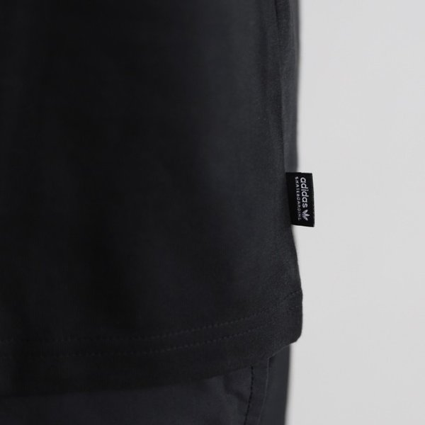 アディダスオリジナルス マークゴンザレス コラボ Tシャツ adidas originals  SHMOO TEE BLACK WHITE シュムー Tシャツ ブラック 2019秋冬新作|charger|05