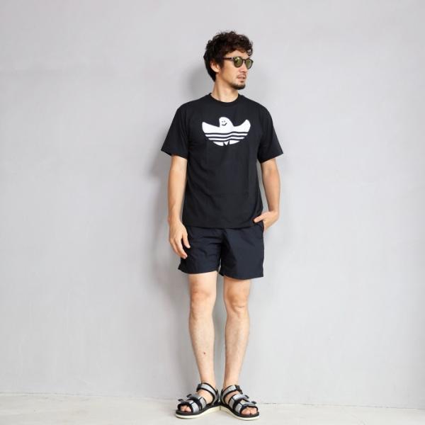 アディダスオリジナルス マークゴンザレス コラボ Tシャツ adidas originals  SHMOO TEE BLACK WHITE シュムー Tシャツ ブラック 2019秋冬新作|charger|06