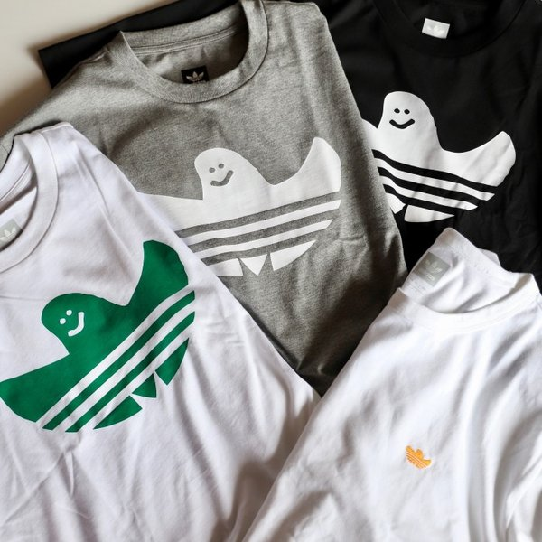 アディダスオリジナルス マークゴンザレス コラボ Tシャツ adidas originals  SHMOO TEE BLACK WHITE シュムー Tシャツ ブラック 2019秋冬新作|charger|07