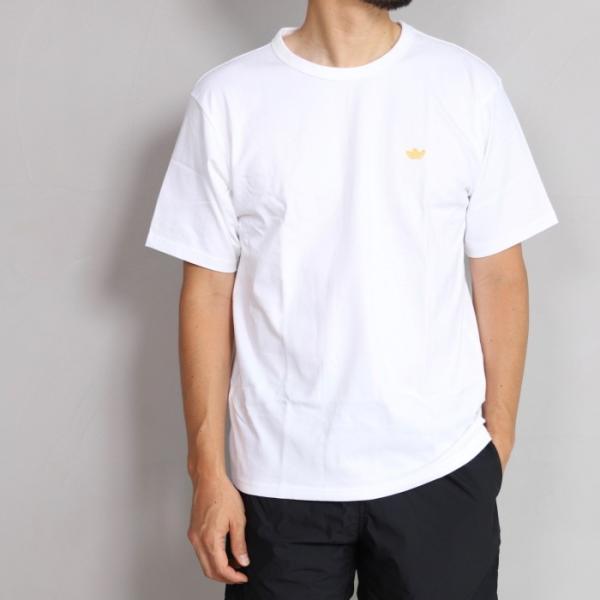 アディダスオリジナルス マークゴンザレス コラボ Tシャツ adidas originals  MINI SHMOO TEE WHITE YELLOW ミニ シュムー 刺繍 Tシャツ ホワイト 2019秋冬新作|charger|02