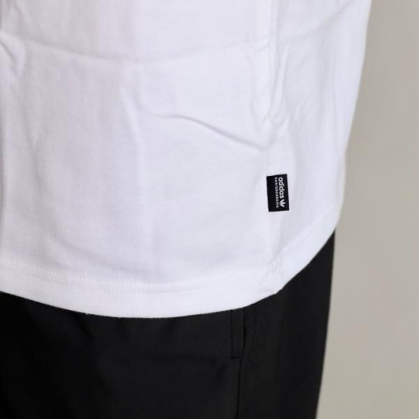 アディダスオリジナルス マークゴンザレス コラボ Tシャツ adidas originals  MINI SHMOO TEE WHITE YELLOW ミニ シュムー 刺繍 Tシャツ ホワイト 2019秋冬新作|charger|05