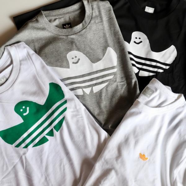 アディダスオリジナルス マークゴンザレス コラボ Tシャツ adidas originals  MINI SHMOO TEE WHITE YELLOW ミニ シュムー 刺繍 Tシャツ ホワイト 2019秋冬新作|charger|07