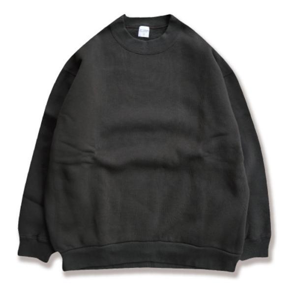 エディットクロージング スウェット EDIT CLOTHING ルーズ クルーネック スウェット Loose crew neck sweat ダークオリーブ Dark Olive 2019秋冬新作|charger|02