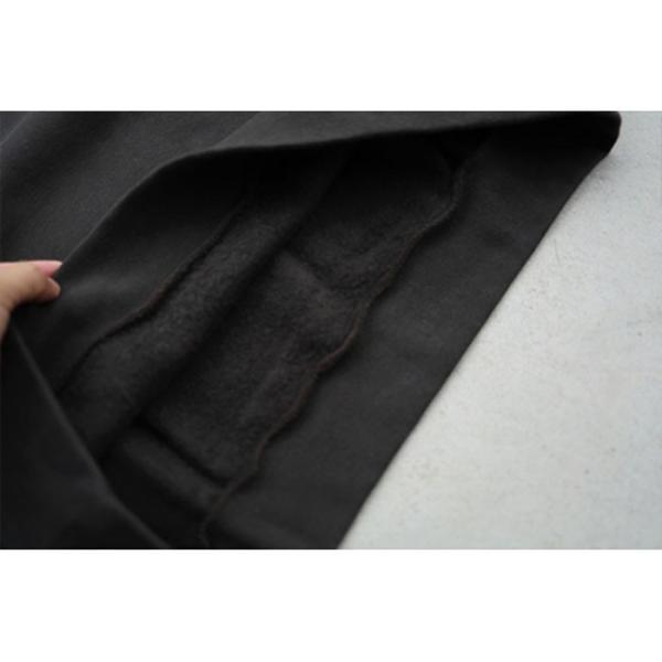 エディットクロージング スウェット EDIT CLOTHING ルーズ クルーネック スウェット Loose crew neck sweat ダークオリーブ Dark Olive 2019秋冬新作|charger|05