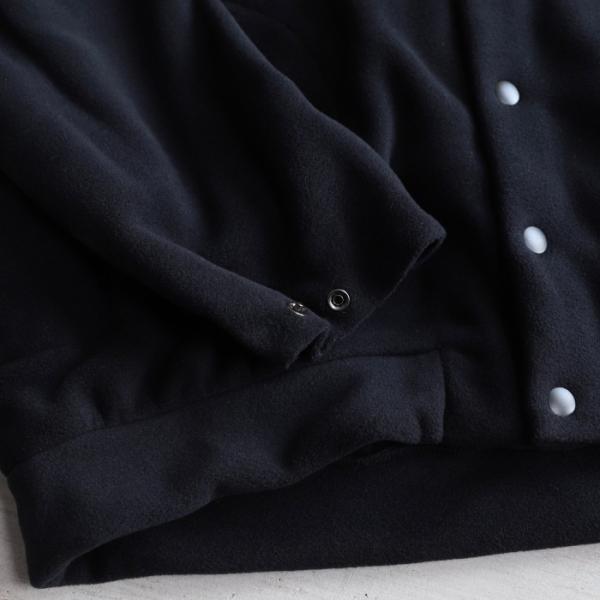 エディットクロージング カーディガン EDIT CLOTHING サーモライト フリース カーディガン THERMOLITE FLEECE CARDIGAN ブラック BLACK 2019秋冬新作 charger 08