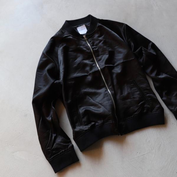 エディットクロージング ジャケット EDIT CLOTHING レーヨン ウール ジャケット RAYON WOOL JACKET ブラック BLACK 2019秋冬新作|charger