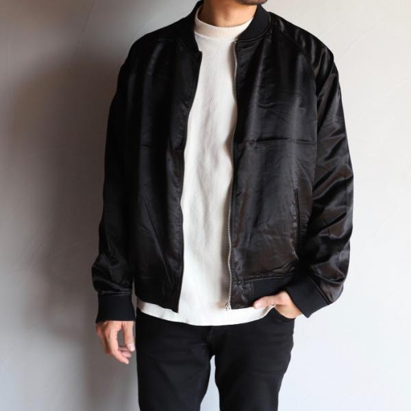 エディットクロージング ジャケット EDIT CLOTHING レーヨン ウール ジャケット RAYON WOOL JACKET ブラック BLACK 2019秋冬新作|charger|02