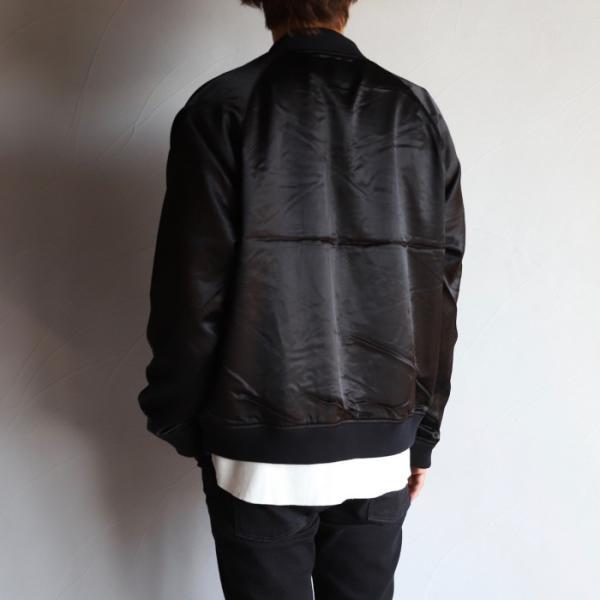 エディットクロージング ジャケット EDIT CLOTHING レーヨン ウール ジャケット RAYON WOOL JACKET ブラック BLACK 2019秋冬新作|charger|03