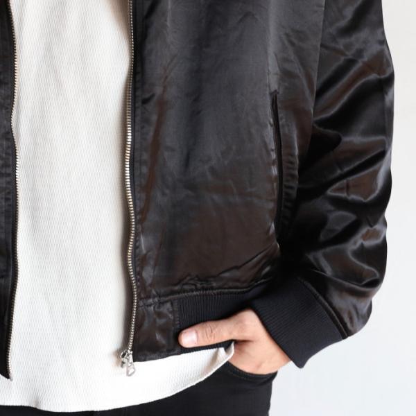 エディットクロージング ジャケット EDIT CLOTHING レーヨン ウール ジャケット RAYON WOOL JACKET ブラック BLACK 2019秋冬新作|charger|05