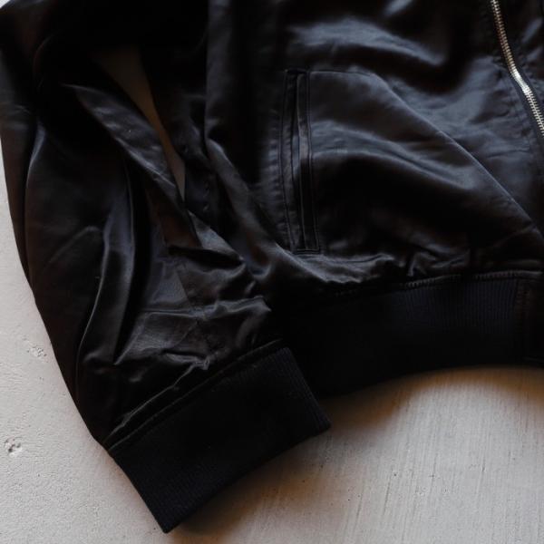 エディットクロージング ジャケット EDIT CLOTHING レーヨン ウール ジャケット RAYON WOOL JACKET ブラック BLACK 2019秋冬新作|charger|09
