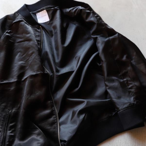 エディットクロージング ジャケット EDIT CLOTHING レーヨン ウール ジャケット RAYON WOOL JACKET ブラック BLACK 2019秋冬新作|charger|10