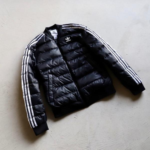 アディダスオリジナルス アウター adidas originals SST ダウンジャケット SST DOWN JACKET ブラック BLACK 2019秋冬新作|charger|06
