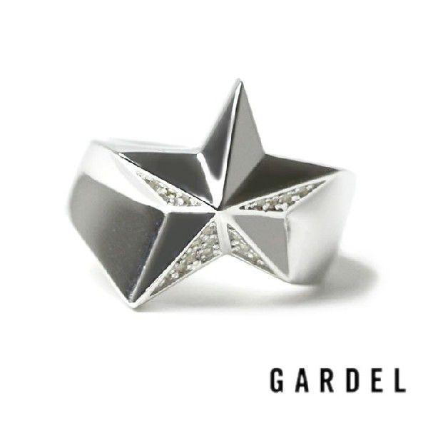 ガーデル アクセサリー,SPAKLING STAR RING,スパークリングスターリング,(SILVER CV),GARDEL アクセサリー,GARDEL 通販 取扱い 店舗|charger