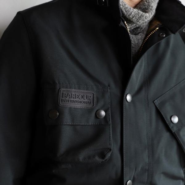 バブアー メンズ Barbour インターナショナル 2レイヤー INTERNATIONAL 2LAYER ブラック BLACK 2019秋冬新作 charger 03