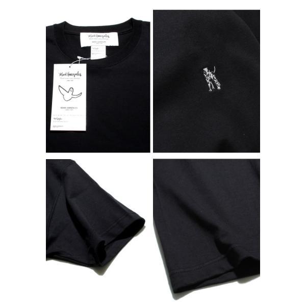 Mark Gonzales マークゴンザレス 2018春夏新作 Mark Gonzales マークゴンザレス ワンポイント刺繍Tシャツ BLACK ブラック|charger|04