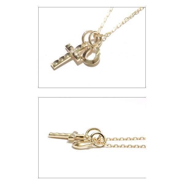 シンパシーオブソウル ネックレス ゴールド ダイヤ K10 SYMPATHY OF SOUL Cross Horseshoe Necklace K10YG Diamond クロス ホースシュー クリスマスモデル|charger|02