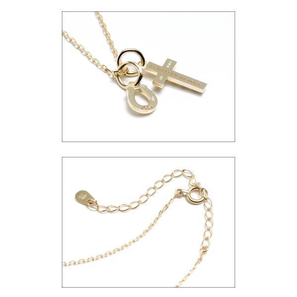 シンパシーオブソウル ネックレス ゴールド ダイヤ K10 SYMPATHY OF SOUL Cross Horseshoe Necklace K10YG Diamond クロス ホースシュー クリスマスモデル|charger|03
