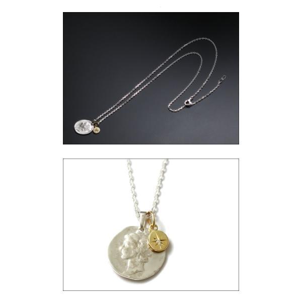 シンパシーオブソウル ネックレス SYMPATHY OF SOUL Liberty Head Necklace Silver K18YG Glory リバティーヘッドネックレス シルバー K18YG グローリー charger 03