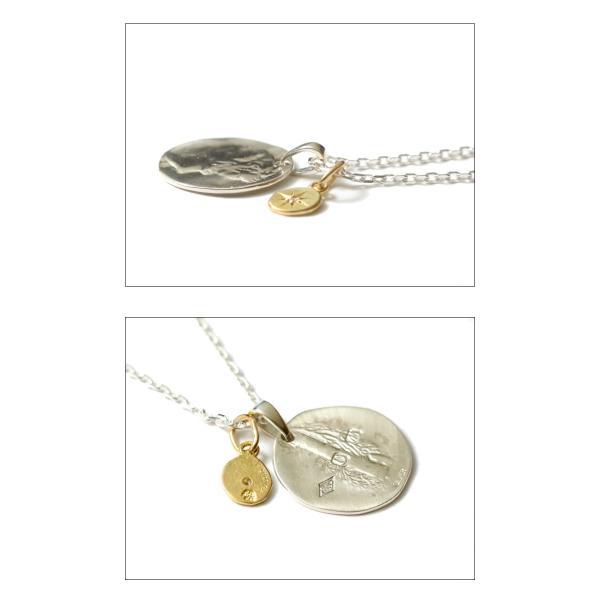 シンパシーオブソウル ネックレス SYMPATHY OF SOUL Liberty Head Necklace Silver K18YG Glory リバティーヘッドネックレス シルバー K18YG グローリー charger 04