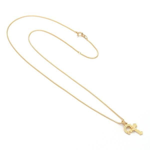 シンパシーオブソウル 2019年クリスマス限定 ネックレス SYMPATHY OF SOUL 1940's Sixpence Cross Necklace w/GOOD LUCK Horsesho グッドラックホースシュー|charger|04