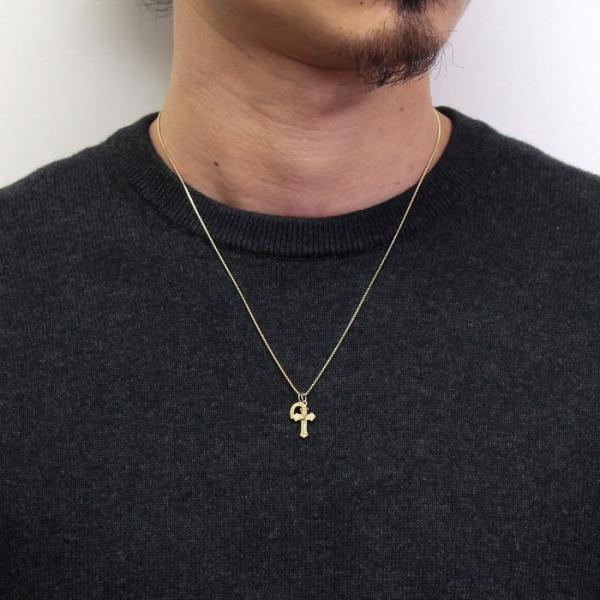 シンパシーオブソウル 2019年クリスマス限定 ネックレス SYMPATHY OF SOUL 1940's Sixpence Cross Necklace w/GOOD LUCK Horsesho グッドラックホースシュー|charger|10