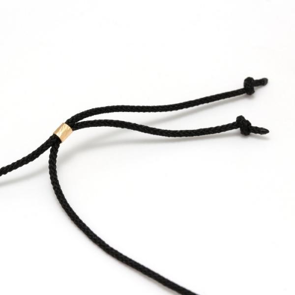 シンパシーオブソウル 2019年クリスマス限定 ネックレス SYMPATHY OF SOUL 1940's Sixpence Cross Cord Necklace K18YG シックスペンス クロス K18ゴールド charger 08