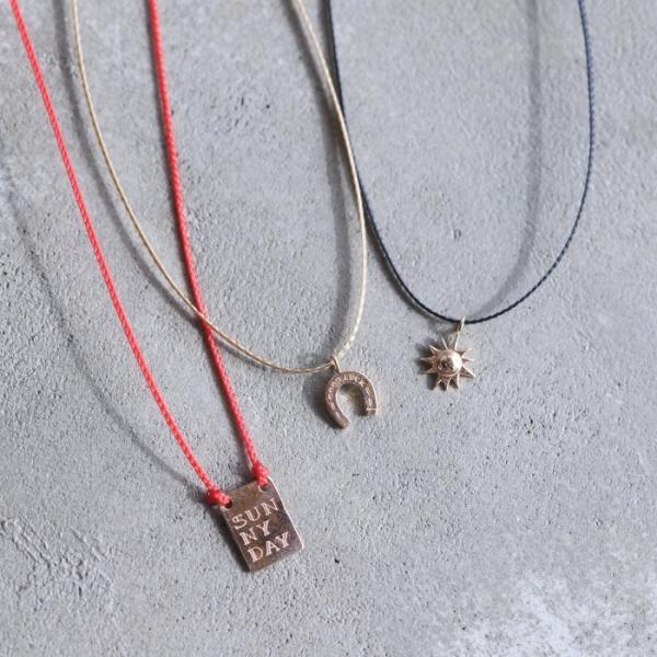シンパシーオブソウル ネックレス SYMPATHY OF SOUL One Mile Jewelry Cord Necklace GOOD LUCK Horseshoe K10YG ワンマイルジュエリー ホースシュー ゴールド|charger|14
