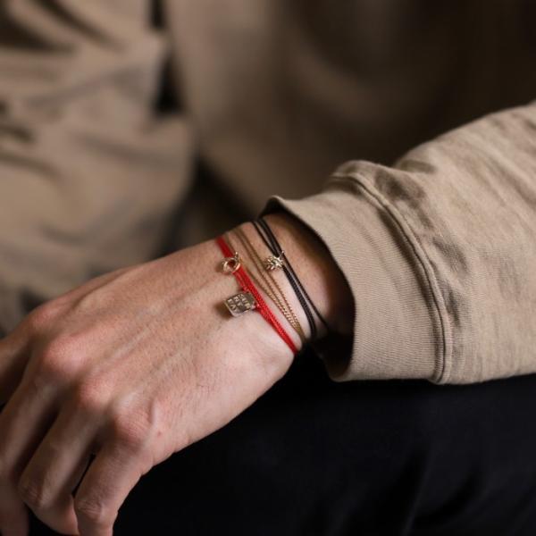 シンパシーオブソウル ネックレス SYMPATHY OF SOUL One Mile Jewelry Cord Necklace GOOD LUCK Horseshoe K10YG ワンマイルジュエリー ホースシュー ゴールド|charger|09