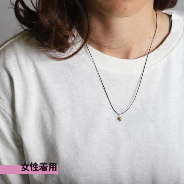 シンパシーオブソウル ネックレス SYMPATHY OF SOUL One Mile Jewelry Cord Necklace Sun Charm K10YG ワンマイルジュエリー サンチャーム 太陽 K10YG|charger|11