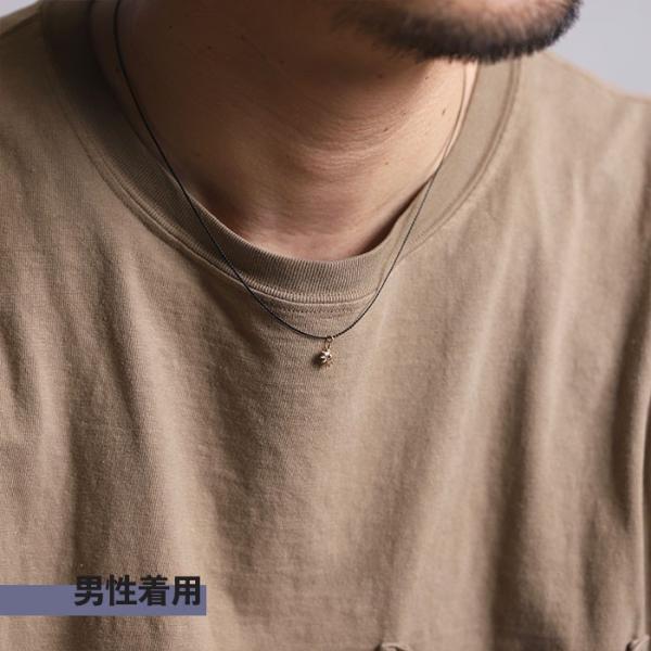 シンパシーオブソウル ネックレス SYMPATHY OF SOUL One Mile Jewelry Cord Necklace Sun Charm K10YG ワンマイルジュエリー サンチャーム 太陽 K10YG|charger|03