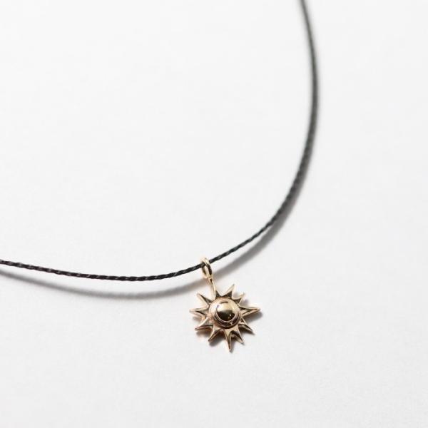 シンパシーオブソウル ネックレス SYMPATHY OF SOUL One Mile Jewelry Cord Necklace Sun Charm K10YG ワンマイルジュエリー サンチャーム 太陽 K10YG|charger|04