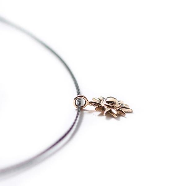 シンパシーオブソウル ネックレス SYMPATHY OF SOUL One Mile Jewelry Cord Necklace Sun Charm K10YG ワンマイルジュエリー サンチャーム 太陽 K10YG|charger|05