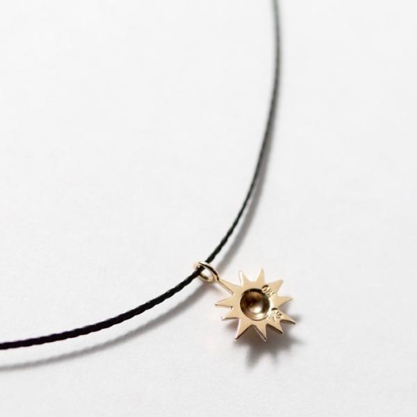 シンパシーオブソウル ネックレス SYMPATHY OF SOUL One Mile Jewelry Cord Necklace Sun Charm K10YG ワンマイルジュエリー サンチャーム 太陽 K10YG|charger|06