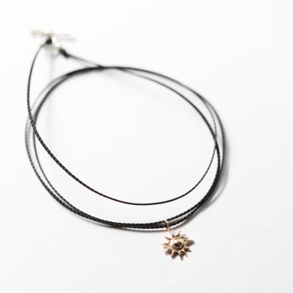 シンパシーオブソウル ネックレス SYMPATHY OF SOUL One Mile Jewelry Cord Necklace Sun Charm K10YG ワンマイルジュエリー サンチャーム 太陽 K10YG|charger|07