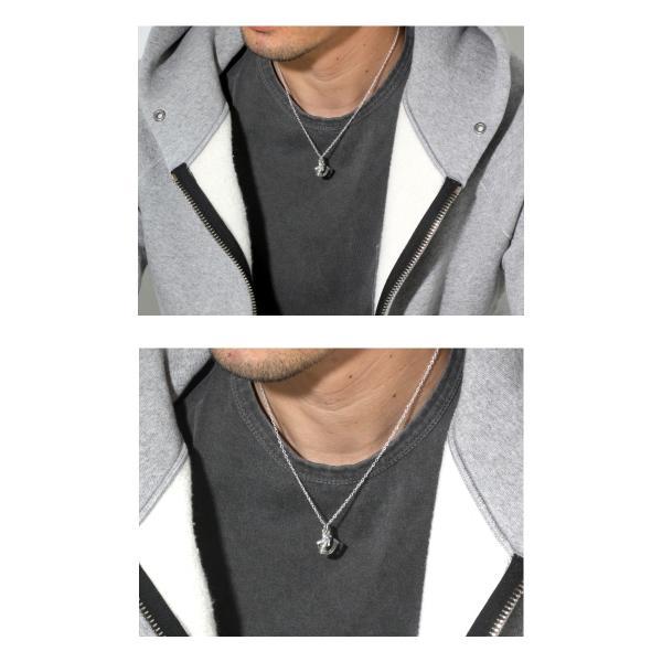 SYMPATHY OF SOUL × PUERTA DELSOL シンパシーオブソウル × プエルタデルソル コラボ Fang Necklace ファング ネックレス Silver シルバー|charger|05