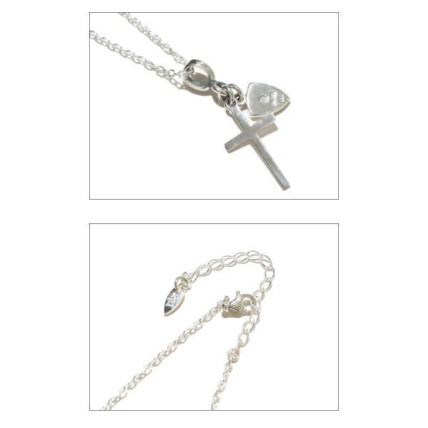 PUERTA DEL SOL プエルタデルソル Cross×Knight Necklace クロス ナイト ネックレス SILVER EPOXY DIAMONDO シルバー エポキシ ダイヤモンド|charger|03
