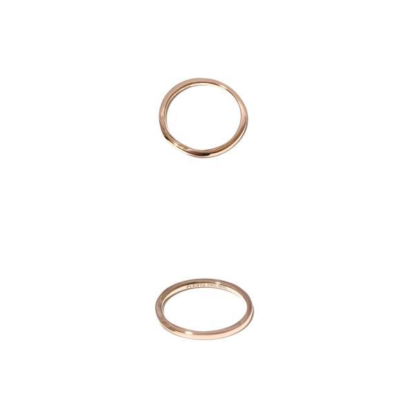 PUERTA DEL SOL プエルタデルソル Mobius Strip Narrow Ring K10PG メビウスストリップ ナロー リング K10ピンクゴールド charger 02