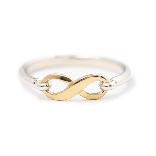 シンパシーオブソウル 指輪 SYMPATHY OF SOUL Infinity Band Ring Silver×K18 Yellow Gold インフィニティ バンド リング シルバー×K18 イエローゴールド|charger|03