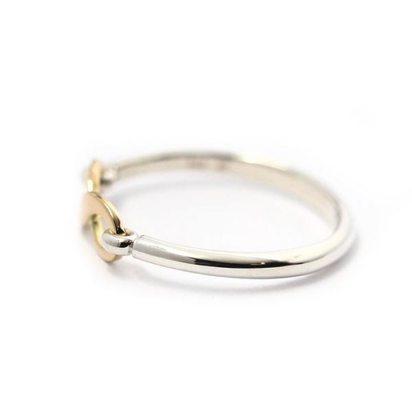シンパシーオブソウル 指輪 SYMPATHY OF SOUL Infinity Band Ring Silver×K18 Yellow Gold インフィニティ バンド リング シルバー×K18 イエローゴールド|charger|05