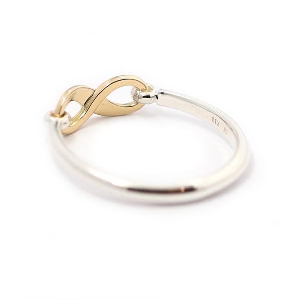 シンパシーオブソウル 指輪 SYMPATHY OF SOUL Infinity Band Ring Silver×K18 Yellow Gold インフィニティ バンド リング シルバー×K18 イエローゴールド|charger|06