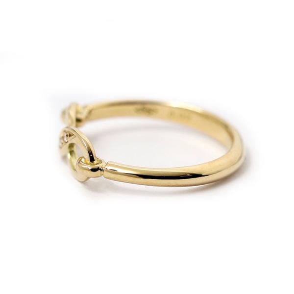 シンパシーオブソウル 指輪 SYMPATHY OF SOUL Infinity Band Ring K18 Yellow Gold w/Diamond インフィニティ バンド リング K18 YG w/ダイヤモンド charger 05