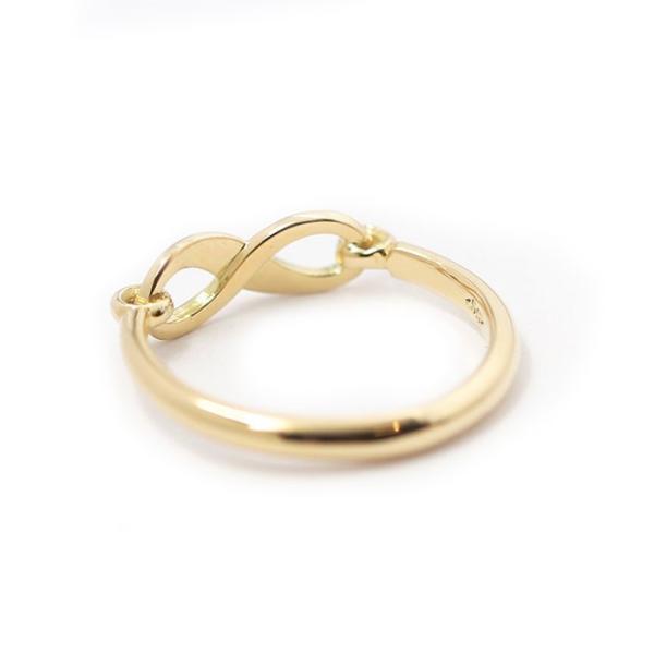 シンパシーオブソウル 指輪 SYMPATHY OF SOUL Infinity Band Ring K18 Yellow Gold w/Diamond インフィニティ バンド リング K18 YG w/ダイヤモンド charger 06