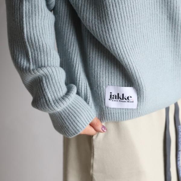 ジャッキー レディース セーター jakke ロールネックベティ ROLLNECK BETTY ダックエッグブルー DUCK EGG BLUE 2019秋冬新作|charger|05