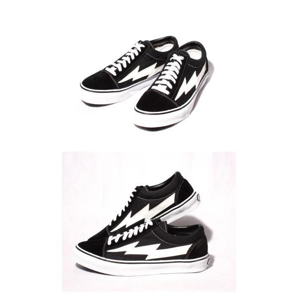 REVENGE × STORM IANCONNOR リベンジストーム イアンコナー キャンバス スニーカー BLACK  ブラック ホワイト|charger|02