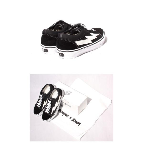 REVENGE × STORM IANCONNOR リベンジストーム イアンコナー キャンバス スニーカー BLACK  ブラック ホワイト|charger|03