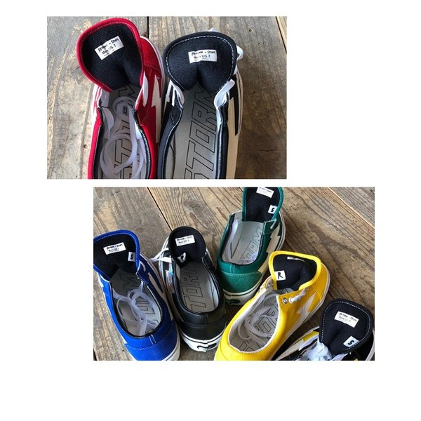 REVENGE × STORM IANCONNOR リベンジストーム イアンコナー キャンバス スニーカー BLACK  ブラック ホワイト|charger|08