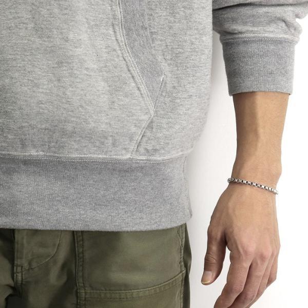 スーマンダックワ ブレス Suman Dhakhwa コンビ ベネチアンチェーン ブレスレット シルバー 銅 木目金 Combi Venetian Chain Bracelet Silver Copper MOKUMEGANE|charger|10