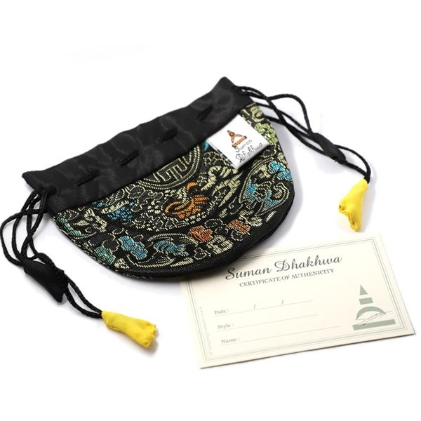スーマンダックワ ネックレス Suman Dhakhwa ツイステッド ストーン ペンダント ベネチアン チェーンセット Twisted Stone Pendant Inlay Venetian Chain Silver|charger|12