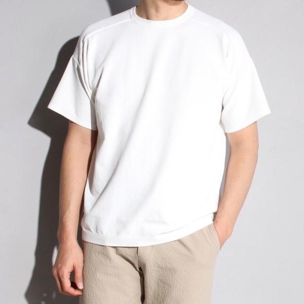 ラッピンノット Tシャツ WRAPINKNOT ニットTシャツ OFFWHITE オフホワイト 2019春夏新作 charger